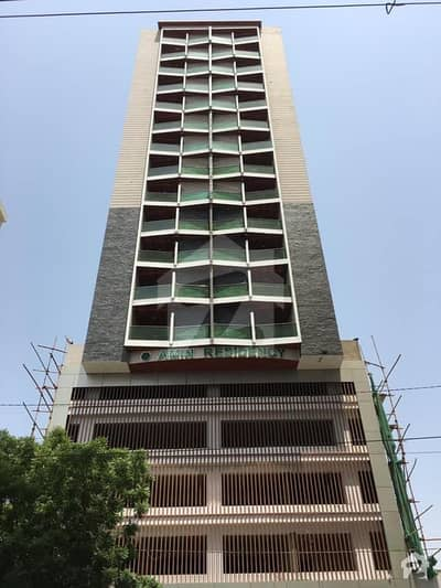 Amin Residency 4 Bed West Open Flat Is Up For Sale On Khalid Bin Walid Road