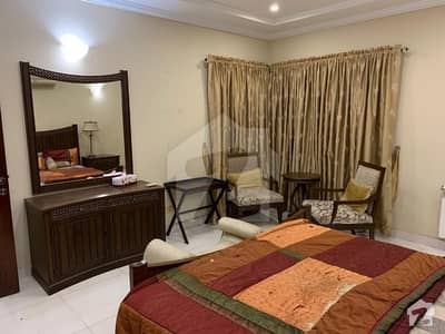 Dha Phase 8 5 Bed Rooms Furnished Luxury For Rent Short Time