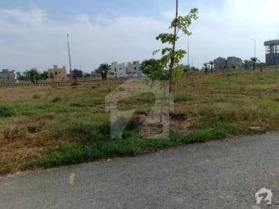 D Block 8 Marla Good Location Plot For Sale In Dha 9 Town Lahore
