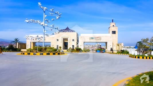 Sector O 8 Marla Good Location Plot For Sale In Bahria Enclave Islamabad