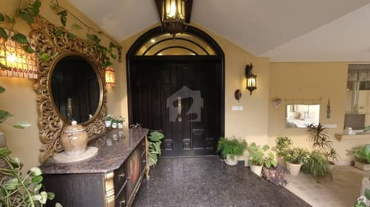666 Yards Superb Fully Furnished House For Sale Demand 14 Crores Fifty Lac