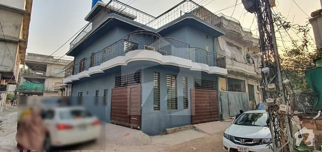 4 Marla Double Storey Corner House With Gas For Sale