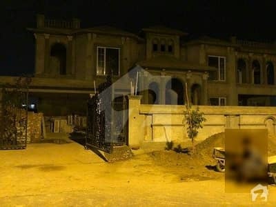 1 kanal grey structure for sale in dha on main road