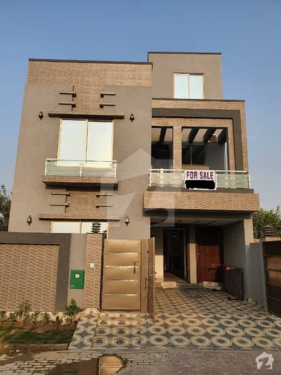 4.5 Marla New House For Sale In Jinnah Block