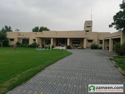 08 Kanal Farm House For Rent In Main Bedina Road Lahore Lush Luxury Bed Attach Cabin Bath