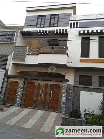 200 Sq Yards Bungalow Brand New Double Storey Ultra Luxury In Block 13 Gulistane Jauher