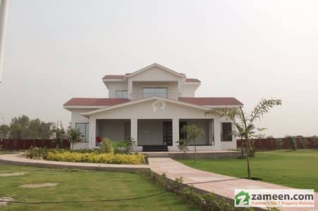 8 Kanal Farm House For Sale Fully Renovated Lush Green Lawn All Boundary Walls