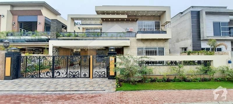 Facing Park 1 Kanal Brand New House In Gulbahar Block Bahria Town Lahore