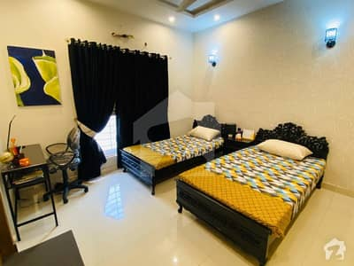 ONE BED FULLY FURNISHED APARTMENT AVAILABLE FOR RENT IN BAHRIA TOWN LAHORE