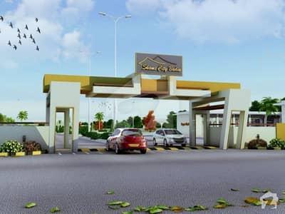 شمس سٹی حیدرآباد - بدین روڈ بدین میں 12 مرلہ رہائشی پلاٹ 31.15 لاکھ میں برائے فروخت۔