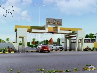 شمس سٹی حیدرآباد - بدین روڈ بدین میں 8 مرلہ رہائشی پلاٹ 20.75 لاکھ میں برائے فروخت۔
