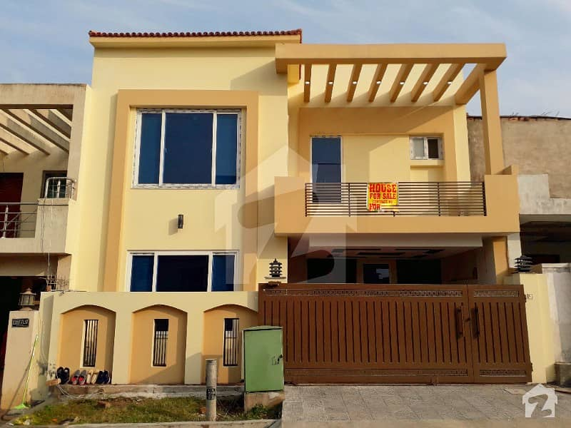 Double Story 7 Marla Brand New House For Sale Bahria Town Phase 8 Umer Block Rwp