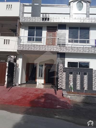 6 Marla Corner Brand New Double Storey House For Sale In Pakistan Town Halvi Block