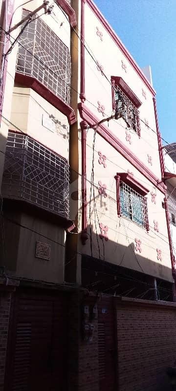 نارتھ کراچی - سیکٹر 11-C/1 نارتھ کراچی کراچی میں 6 کمروں کا 3 مرلہ مکان 1.4 کروڑ میں برائے فروخت۔