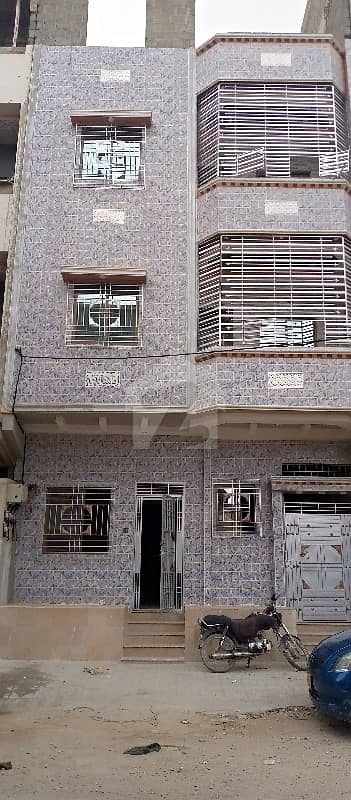House For Sale Located At Azizabad Block 2