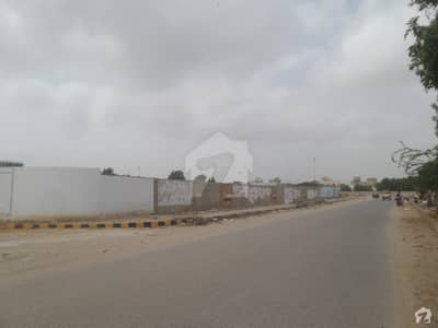 A Stunning Commercial Plot Is Up For Grabs In Scheme 33 Karachi Main 200 Feet Road