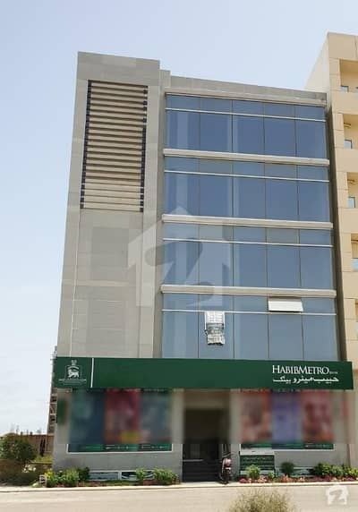 200 Yards Brand New Office Building Offices Floors Available For Rent  2050 Sqft Each Floors