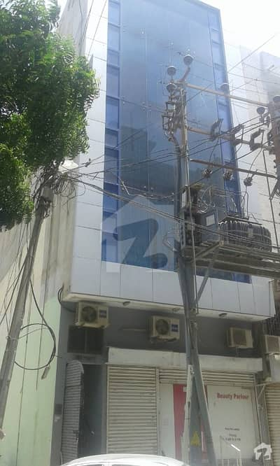 نشاط کمرشل ایریا ڈی ایچ اے فیز 6 ڈی ایچ اے کراچی میں 1.27 کنال عمارت 7 کروڑ میں برائے فروخت۔
