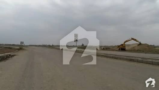 Kanal Pair Plot For Sale in DHA Phase9 Prism GBlock Central Location Carpeted Road Near to Ring Road