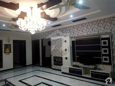 Facing Park 16 Marla Brand New Corner House For Sale In Wapda Town
