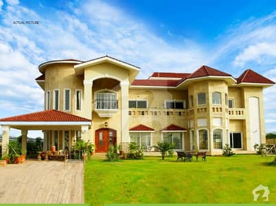 4 Kanal Heighted Location Under Develop Farm House Plot For Sale In D Block Gulberg Greens Islamabad