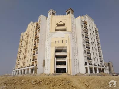 Bahria Heights Tower F Outer 1100 Sq  Feet Flat For Sale