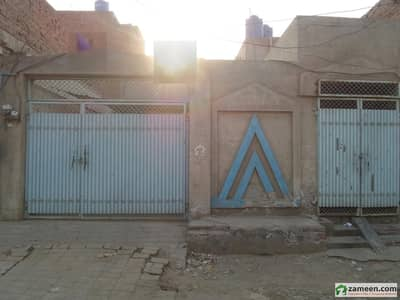 Single Story Beautiful House  For Sale At Shah Din Town, Okara