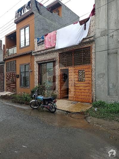3 Marla Single Storey House In Al Ahmad Garden