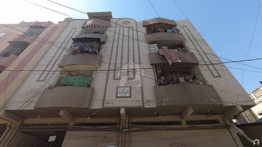 فردوس کالونی لیاقت آباد کراچی میں 3 مرلہ فلیٹ 37 لاکھ میں برائے فروخت۔