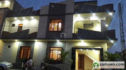 120 Sq Yard Corner Double Storey VIP House In Saadi Town 40ft Road