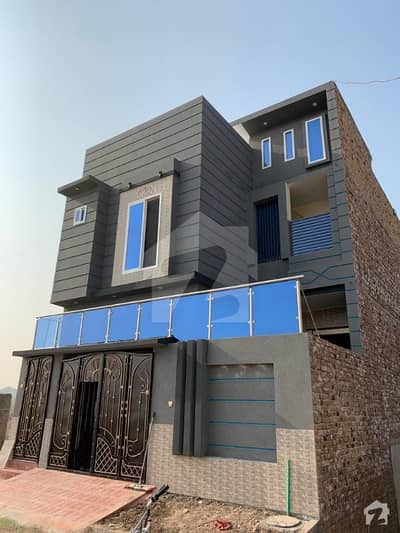 5 Marla  Brand New House For Sale.