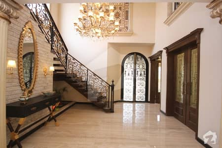 Splendid Spanish Design Bungalow Magnificent Front Elevation In Dha Phase 7