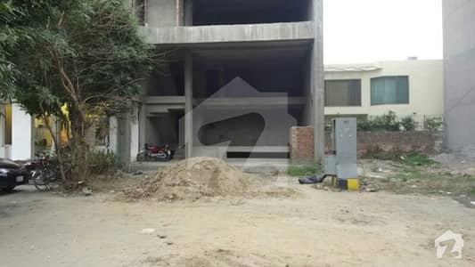 4 Marla Grey Structure Plaza Available For Rent At Prime Location