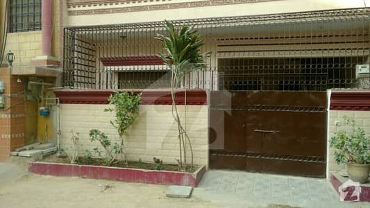 Ground Floor Portion Excellent Condition Next To Main Road First Street North Karachi Sector 8