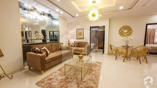 3 Bed Brand New Fully Furnished Apartment For Sale In Square Commercial Of Bahria