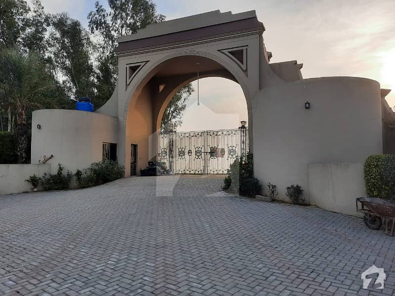 Aesthetic Farm House Of 36000  Square Feet For Rent Is Available
