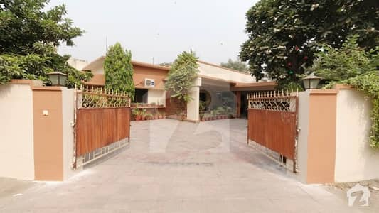 Elegant Design 1.67 Kanal House For Sale At Abid Majeed Road Lahore Cantt