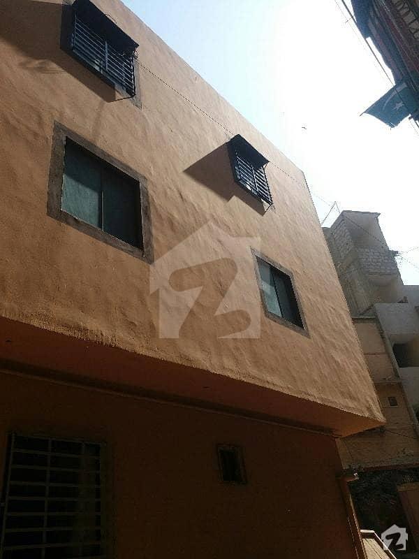 پی آئی بی کالونی کراچی میں 2 کمروں کا 3 مرلہ فلیٹ 60 لاکھ میں برائے فروخت۔