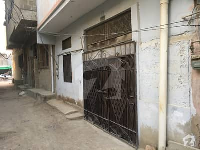 House In Mohammad Khan Colony Sized 100 Square Yards Is Available