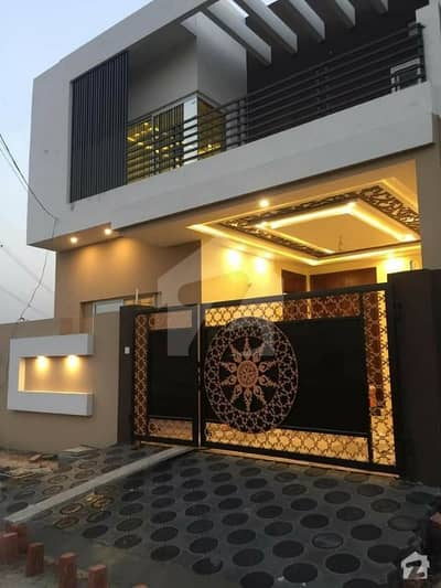 5 Marla Brand New Luxury House Available For Sale In Ayesha Block Abdullah Garden