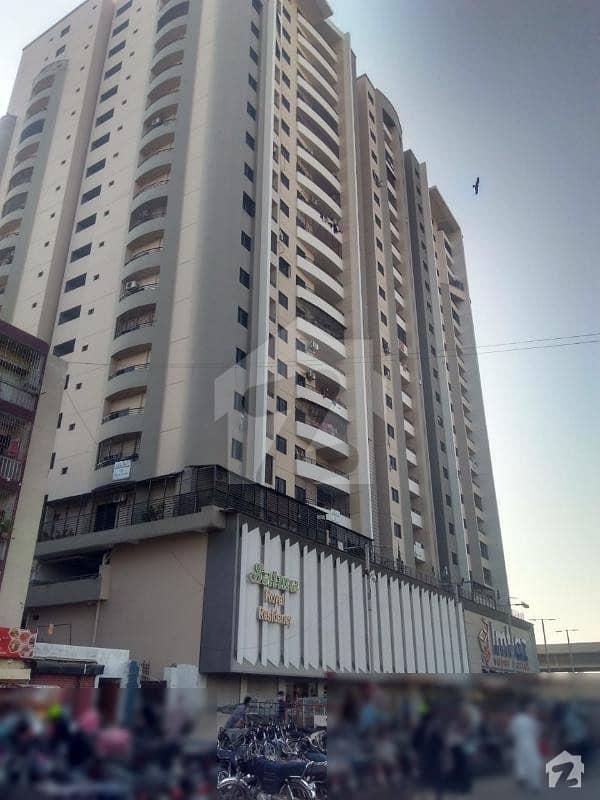 گلشنِ اقبال - بلاک 2 گلشنِ اقبال گلشنِ اقبال ٹاؤن کراچی میں 3 کمروں کا 8 مرلہ فلیٹ 1.56 کروڑ میں برائے فروخت۔
