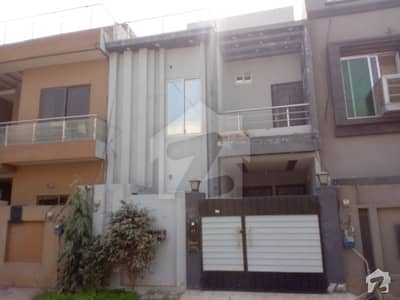Four Marla Double Storey New House For Sale In Military Accounts Society