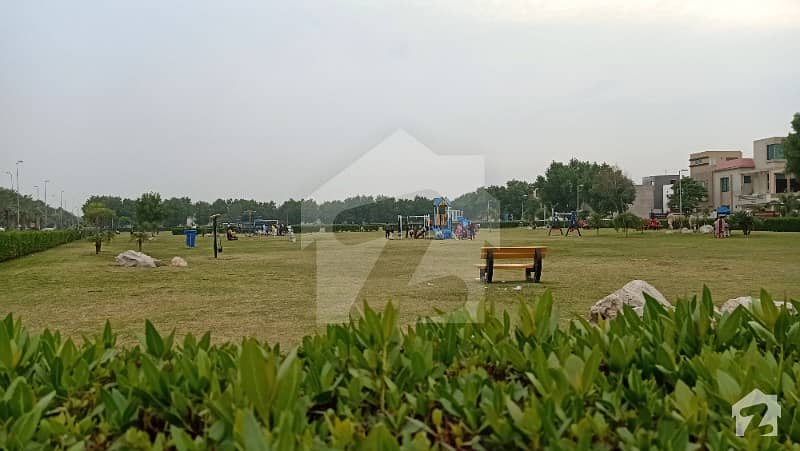 10 Marla On Ground Develop Plot For Sale In Bahria Town Lahore