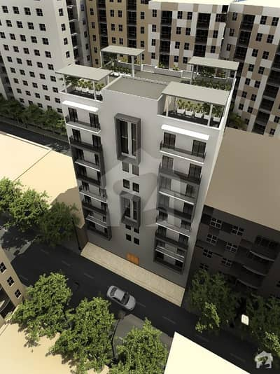 Flat Of 1039  Square Feet For Sale In Bahria Town Karachi