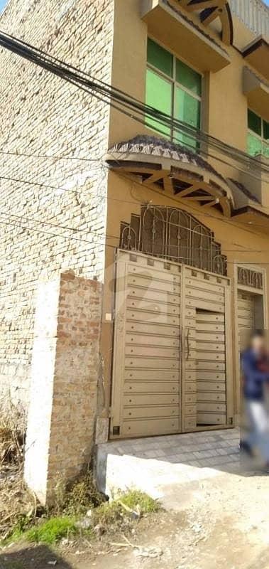 Double Storey House For Sale In Warsak Road Peshawar