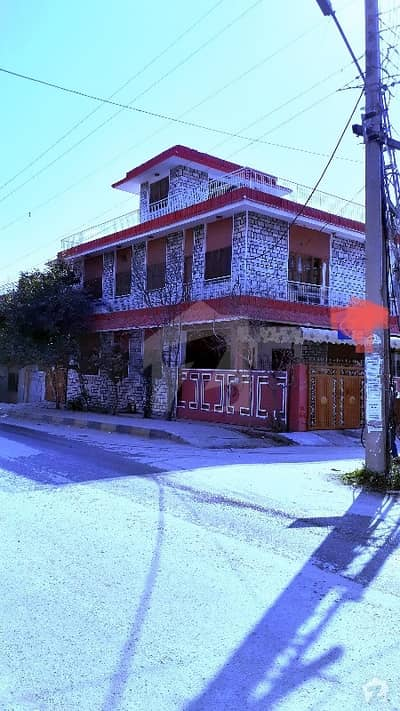Double Storey 25x60  Corner House For Sale In  I-10/2 Islamabad