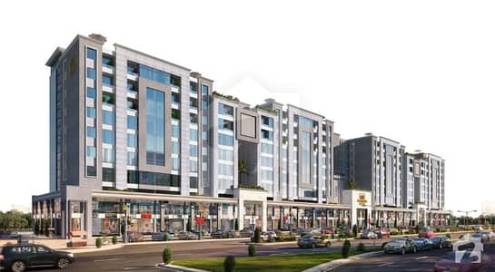 Times Square Mall Residencia 1 Bed Luxury Apartment For Sale On Easy Installment In Bahria Orchard Lahore