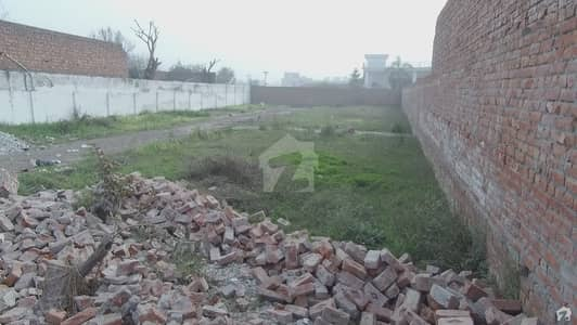 2 Kanal Commercial Plot Is For Sale At Main Barki Road Opposite To Paragon City Main Office
