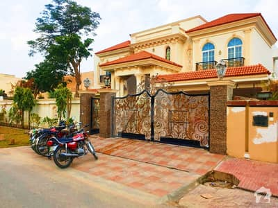 2 Kanal Brand New Semi Furnished Faisal Rasul Design With Home Theater And Swimming Pool Bungalow For Sale