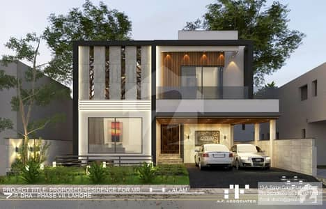 Grey Structure For Sale In Phase 7 Block P